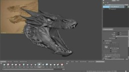 making of Smaug