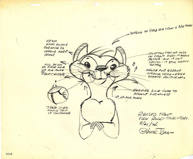 animators chuck jones and rikki tikki tavi thinking animation