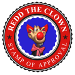 Redd The Clown Stamp Of Approval
