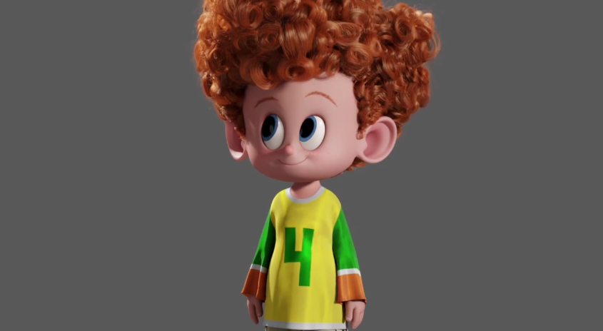hotel transylvania 2  u2013 meet dennis  u2013 thinking animation