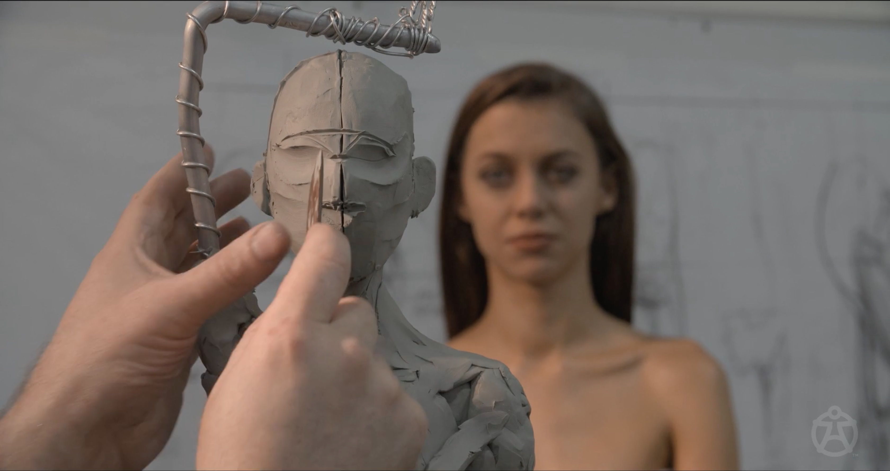 andrew cawrse live sculpting  u2013 thinking animation